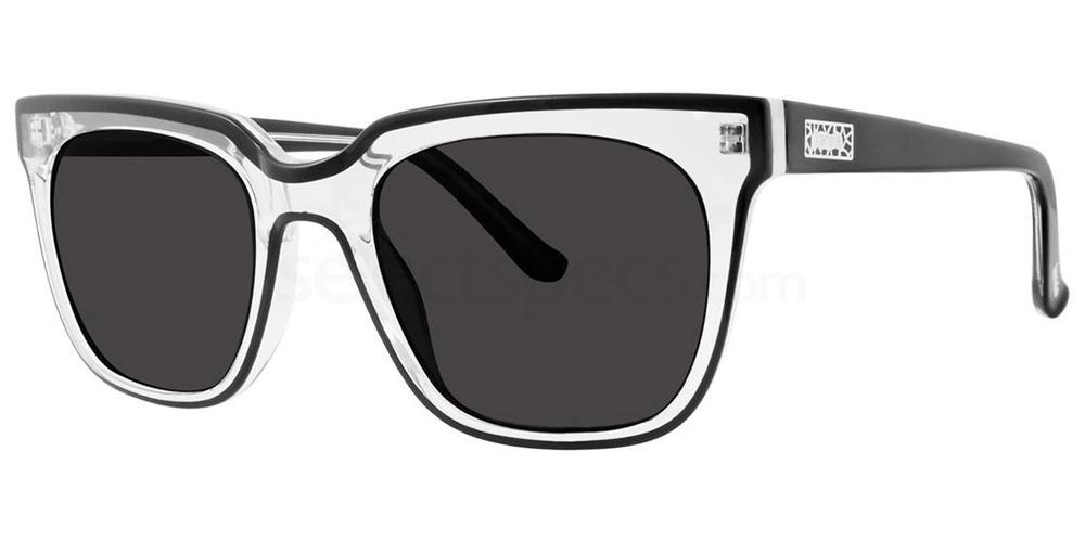 Black (Polarized) GOOD VIDES Sunglasses, Kensie