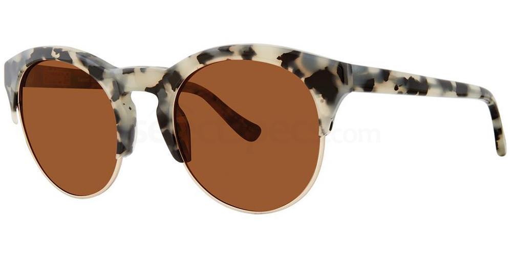 Black Tortoise ROUND ABOUT Sunglasses, Kensie