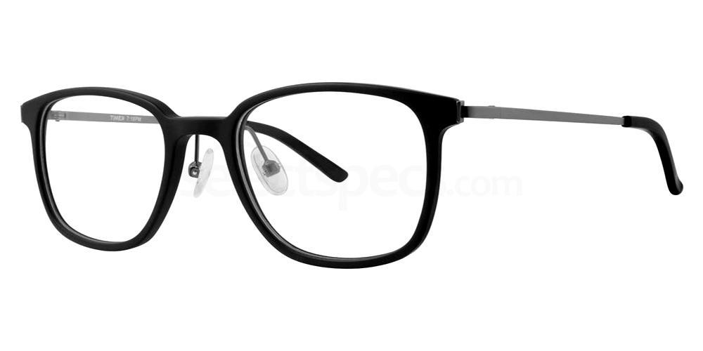 Black 19:18 Glasses, Timex