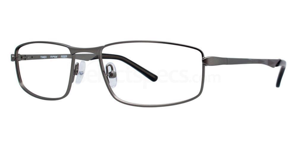 Gunmetal RISER Glasses, TMX by Timex