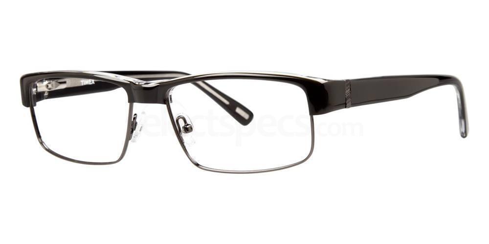 Black L044 Glasses, Timex MAX