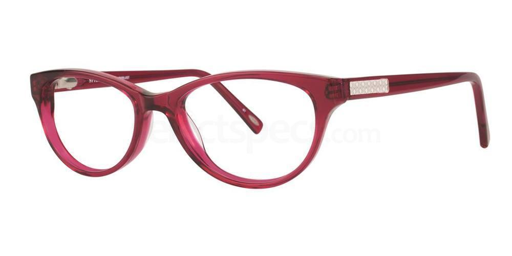 Raspberry Crystal WANDERLUST Glasses, STYLE by Timex