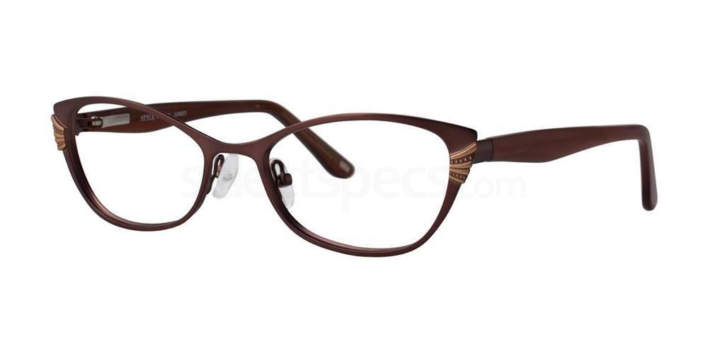 Brown JUNKET Glasses, STYLE by Timex
