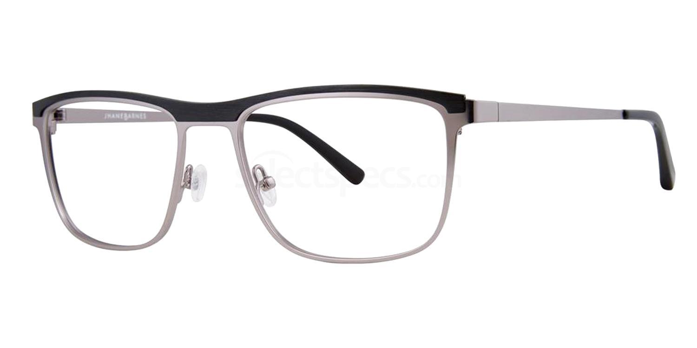 Gunmetal Precision Glasses, Jhane Barnes