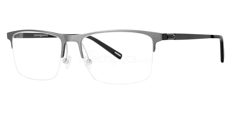 Gunmetal Symmetric Glasses, Jhane Barnes