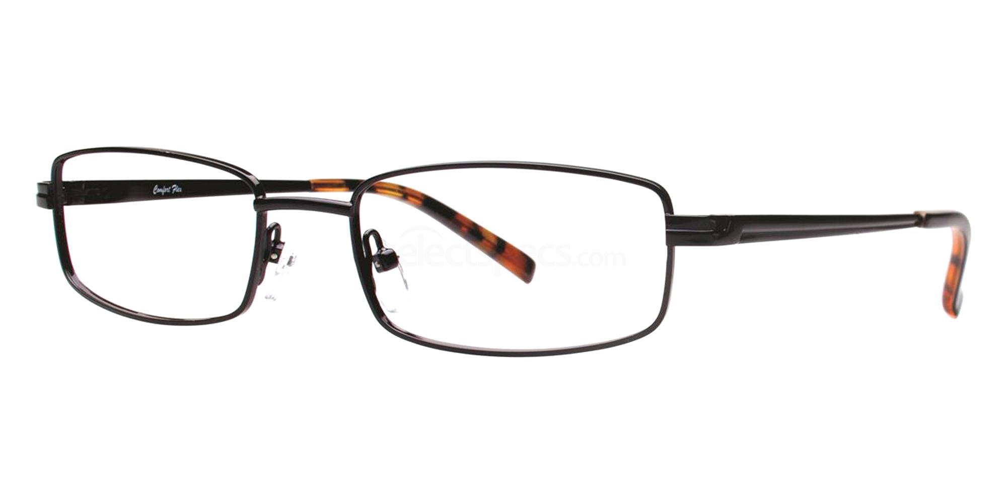 Black GAVIN Glasses, Comfort Flex