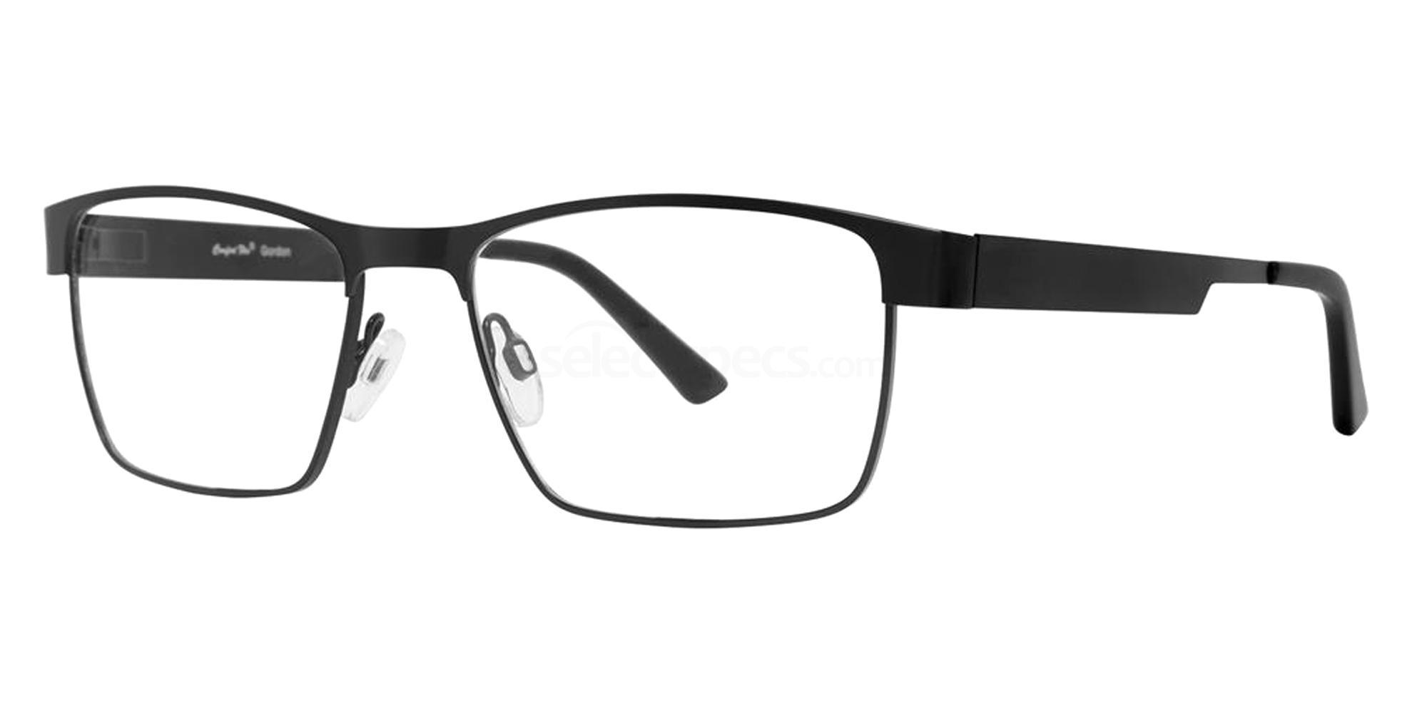 Black GORDON Glasses, Comfort Flex