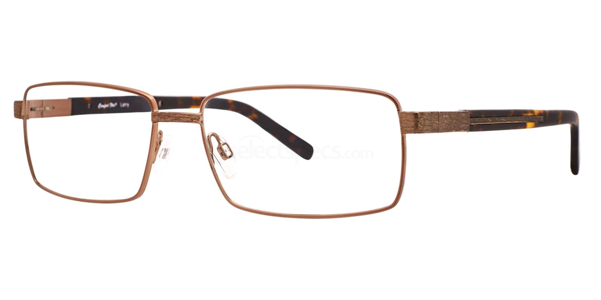 Gold LARRY Glasses, Comfort Flex