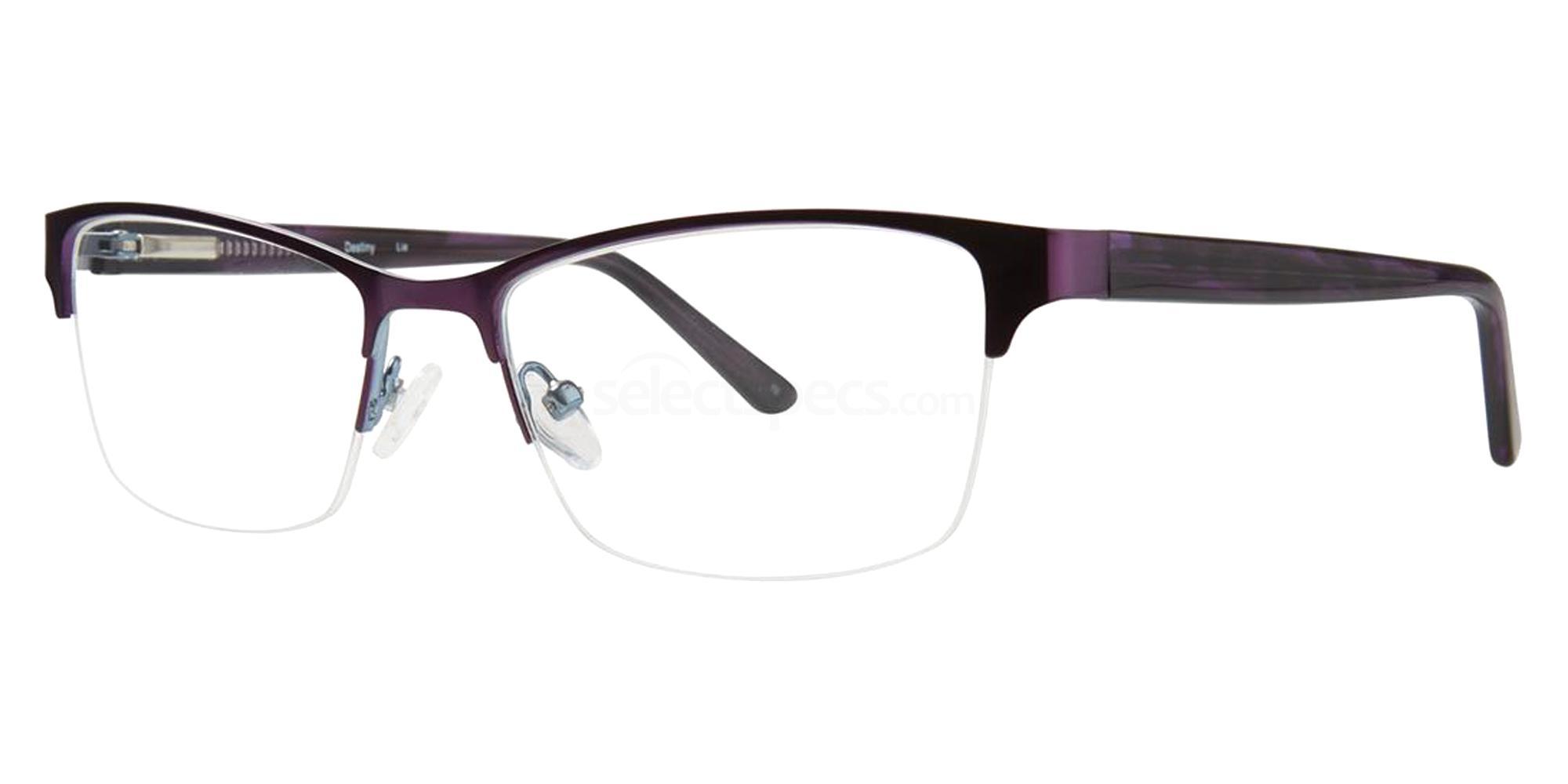 Purple LIA Glasses, Destiny