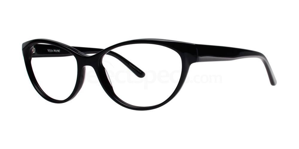 Black ILA Glasses, Vera Wang