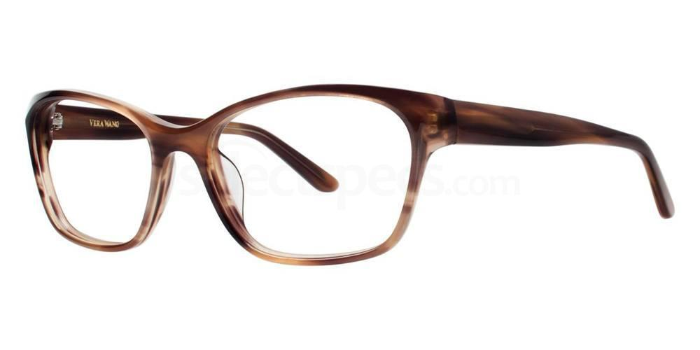 Brown ILBI Glasses, Vera Wang