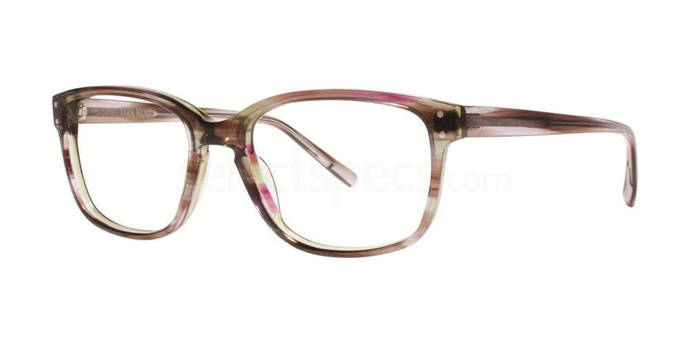 Aubergine Horn LANA Glasses, Vera Wang