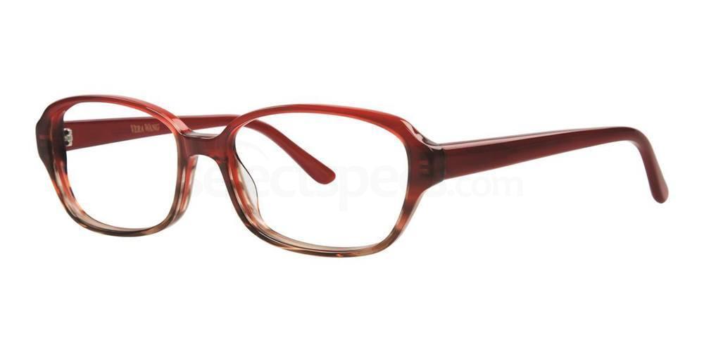 Burgundy LUMILDA Glasses, Vera Wang