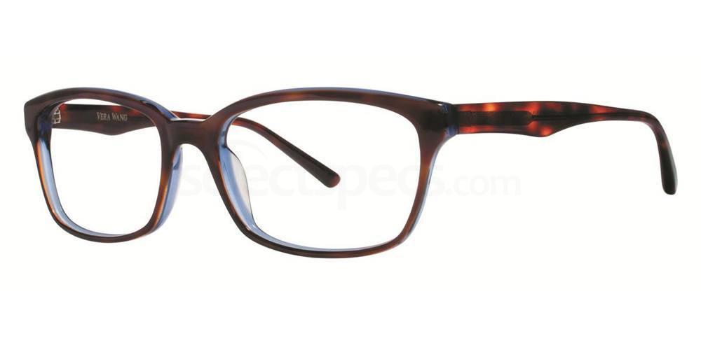 Midnight Tortoise LUNA Glasses, Vera Wang