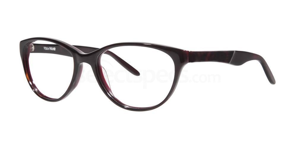 Burgundy MAURELLE Glasses, Vera Wang