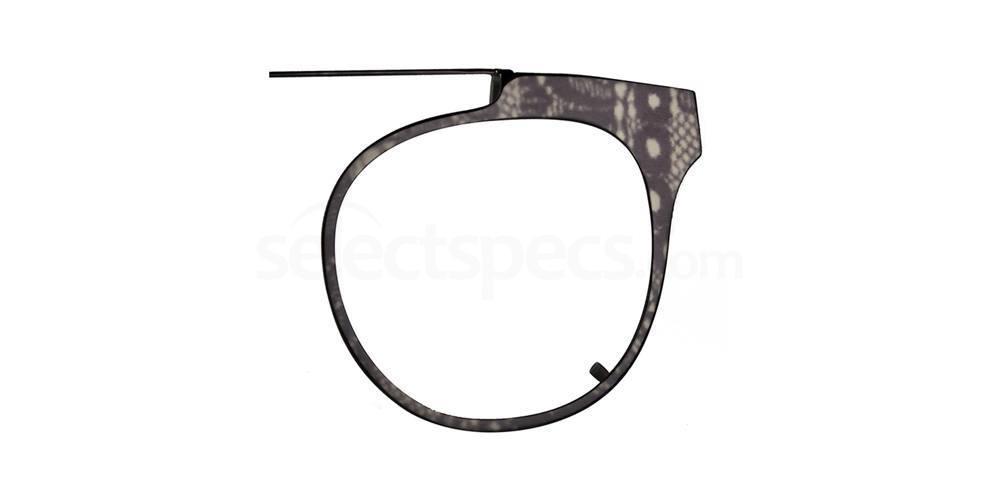 Black Lace MIELA CLIP Glasses, Vera Wang