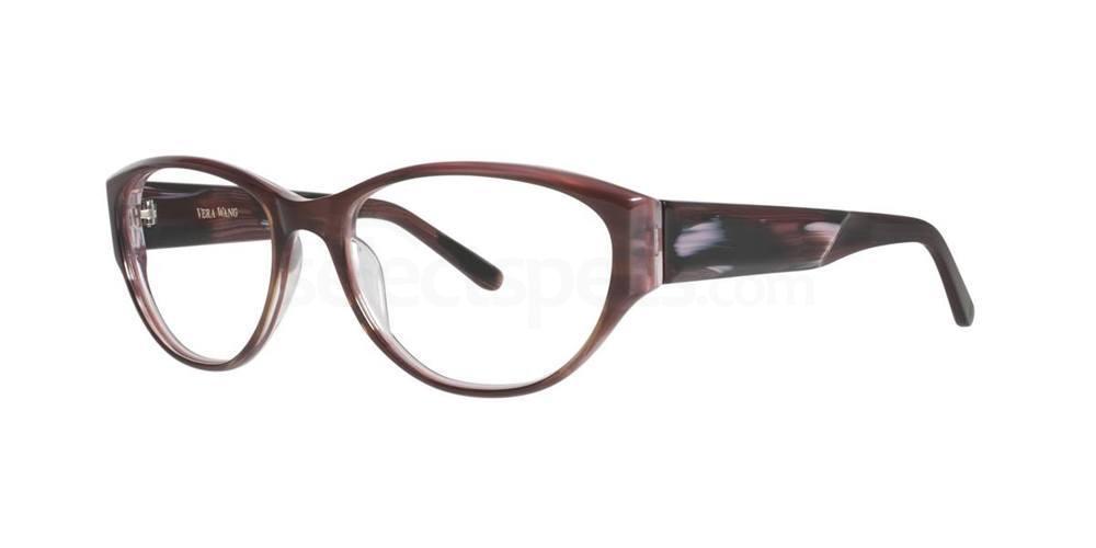 Burgundy TILDE Glasses, Vera Wang