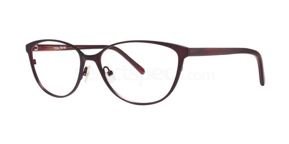 Burgundy VALERIE Glasses, Vera Wang