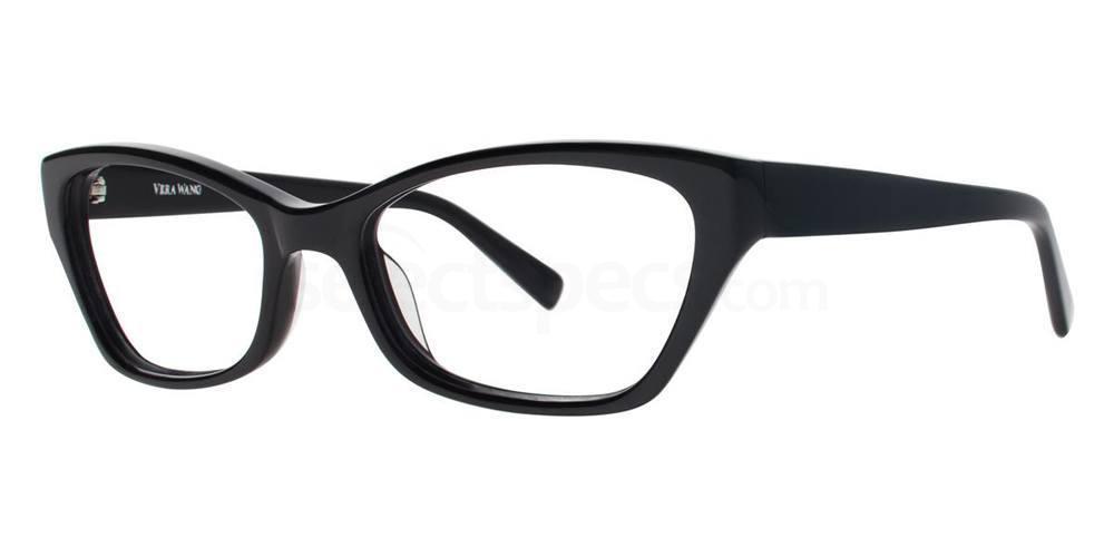 Black INITA Glasses, Vera Wang