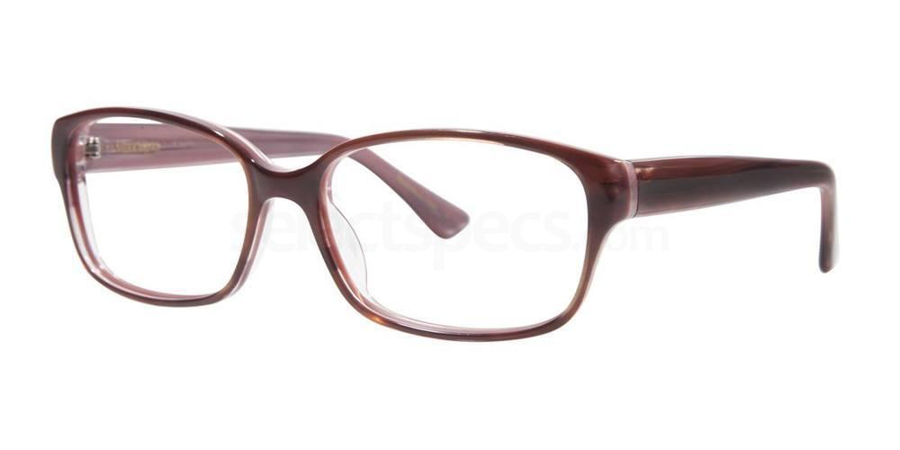 Burgundy TRISE Glasses, Vera Wang