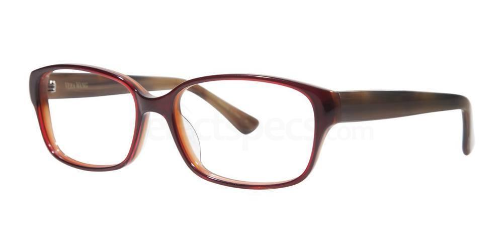Crimson TRISE Glasses, Vera Wang