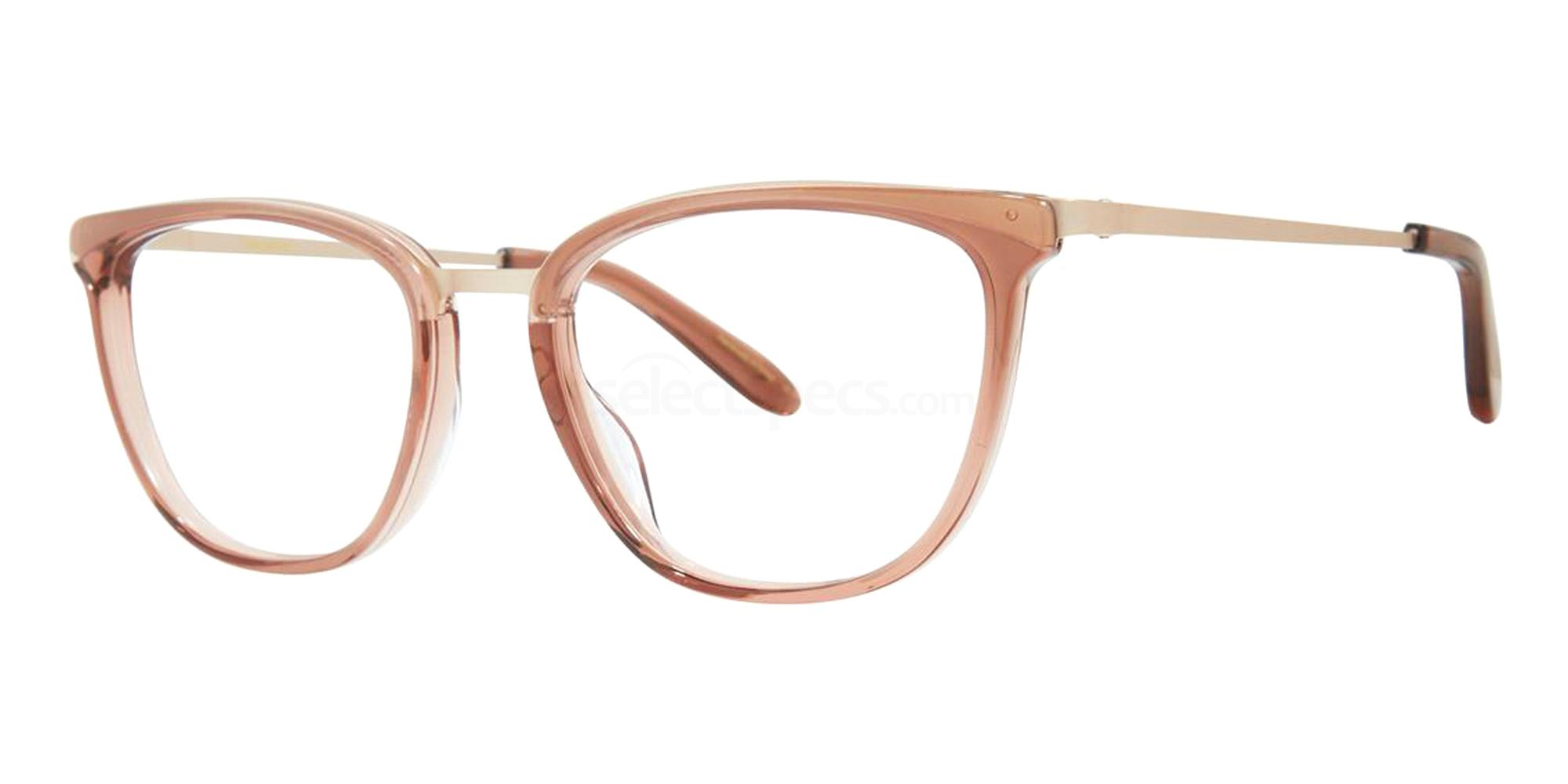 AW20 eyewear trends transparent glasses warm tones vera wang
