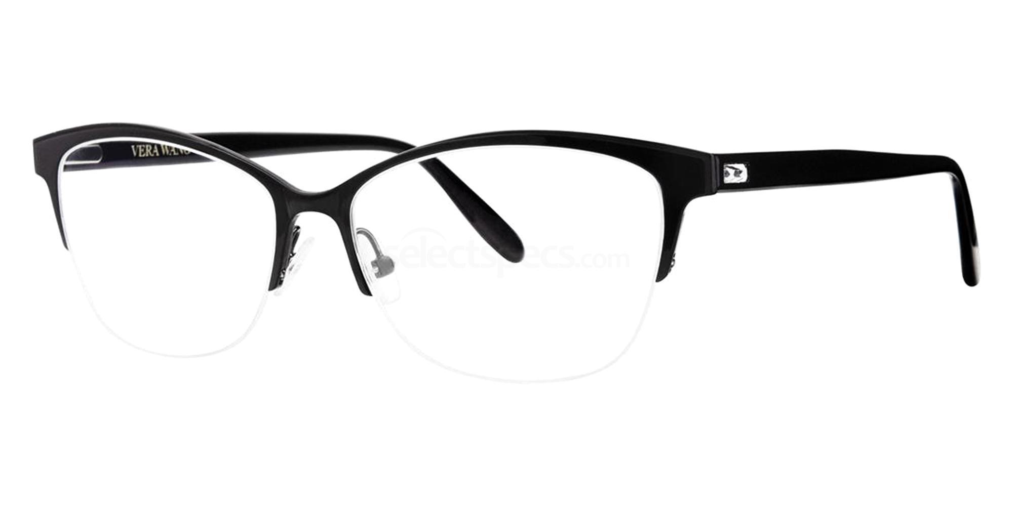Black RYANNE Glasses, Vera Wang Luxe