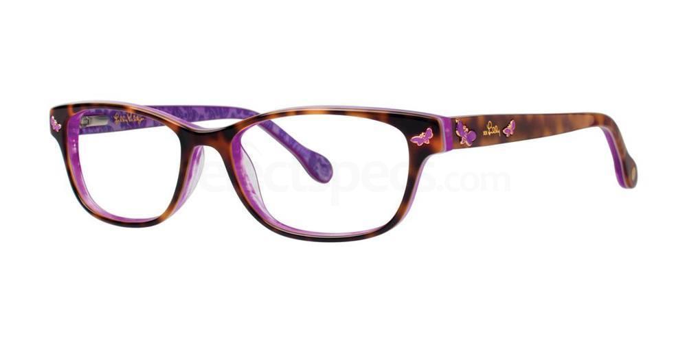Tortoise SANDRINE Glasses, Lilly Pulitzer Girls