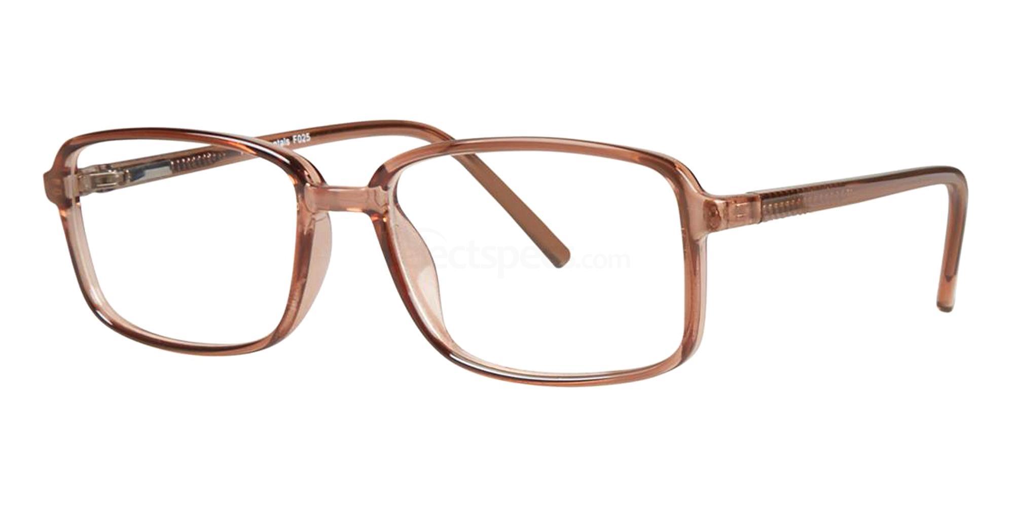 Brown F025 Glasses, Fundamentals