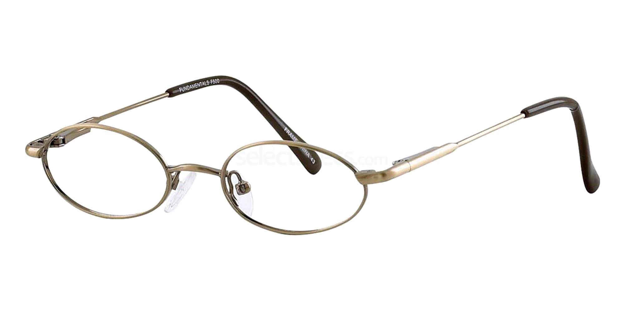 Ant.Brown F500 Glasses, Fundamentals