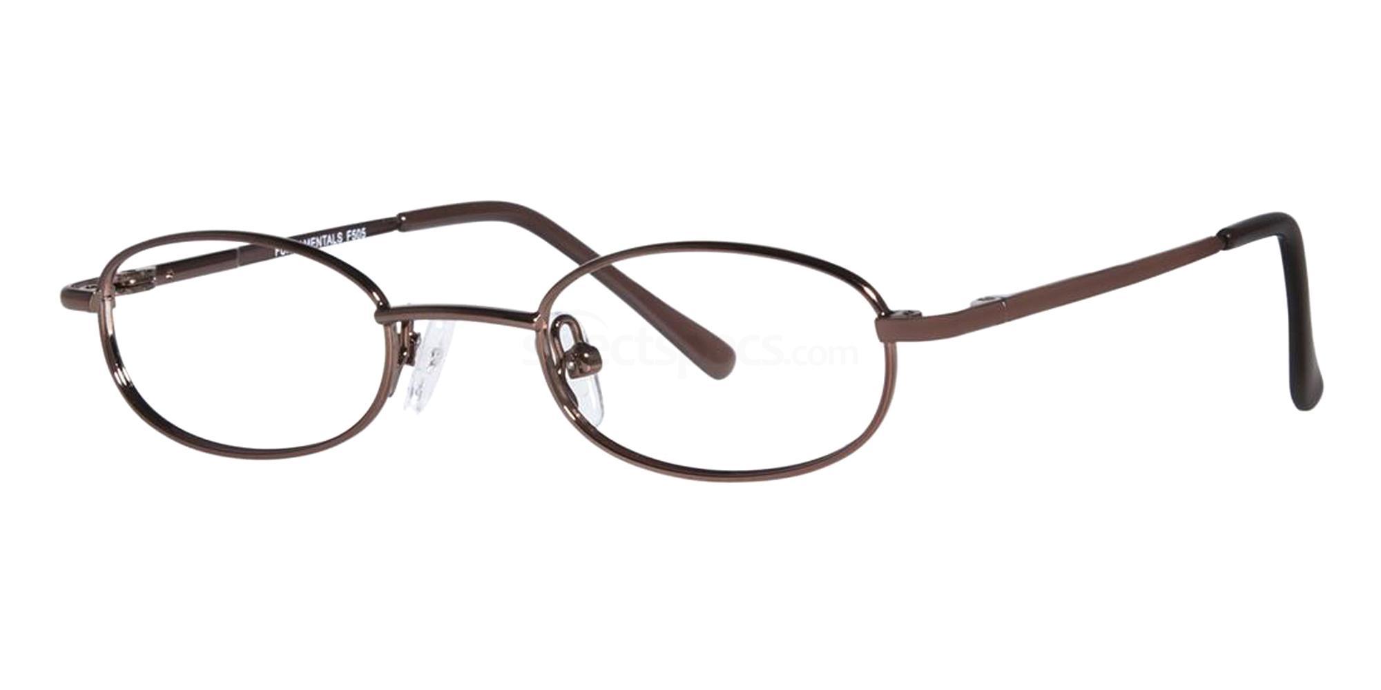 Brown F505 Glasses, Fundamentals