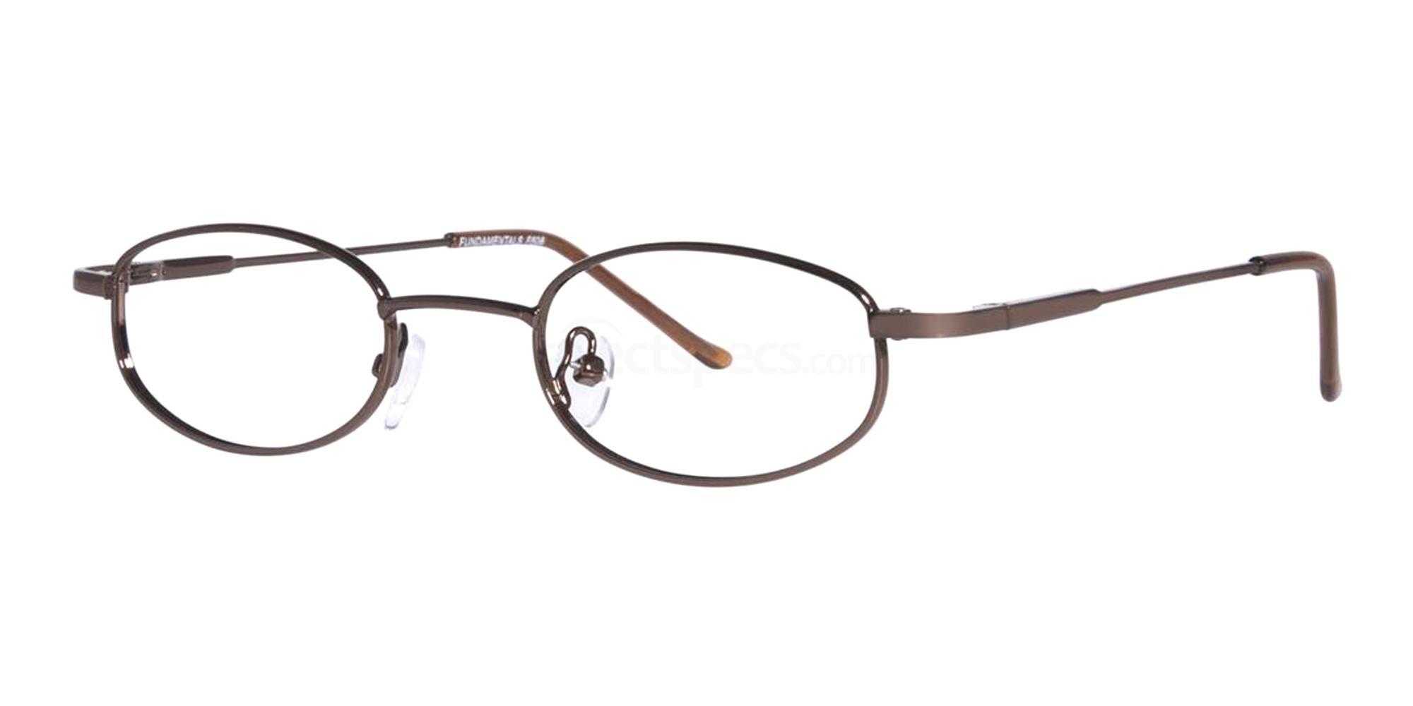 Brown F506 Glasses, Fundamentals