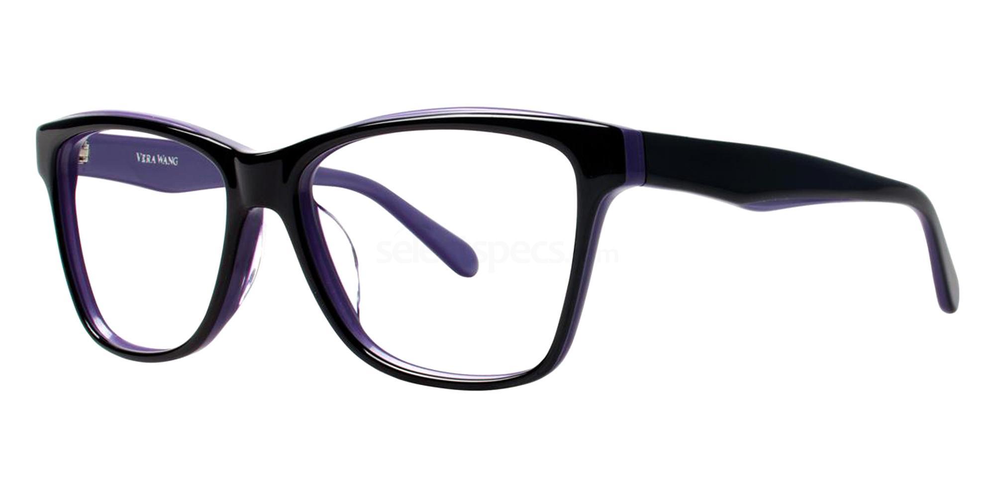 Black VA04 Glasses, Vera Wang Alternative Fit