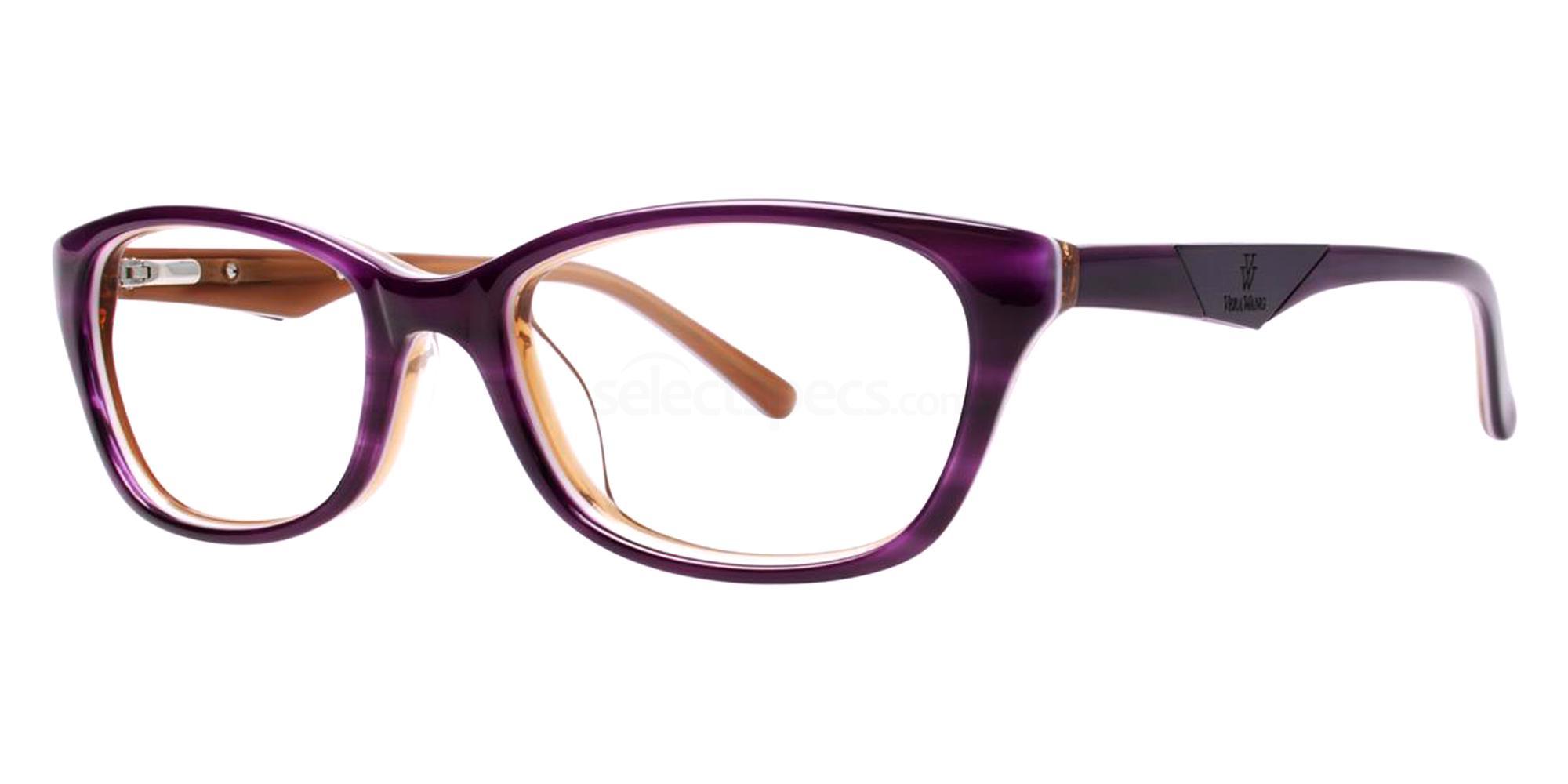 Orchid VA06 Glasses, Vera Wang Alternative Fit