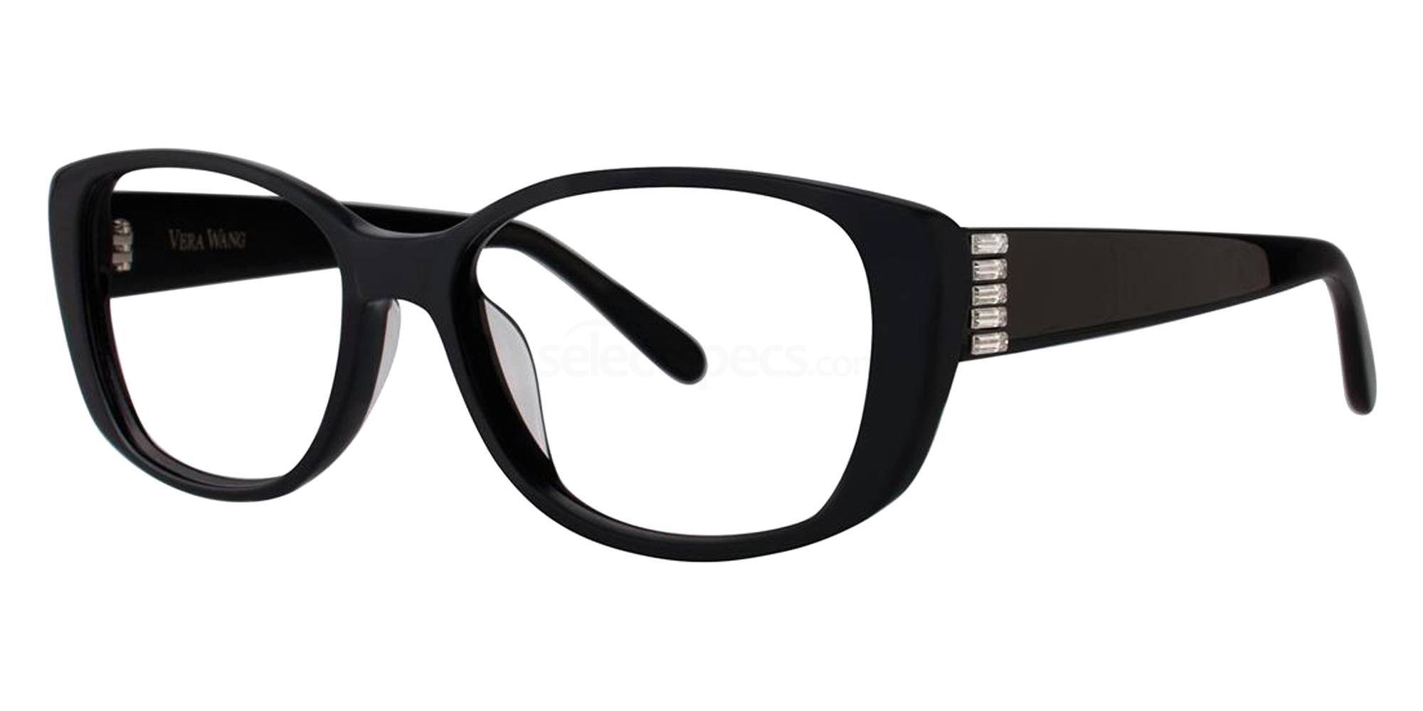 Black VA15 Glasses, Vera Wang Alternative Fit