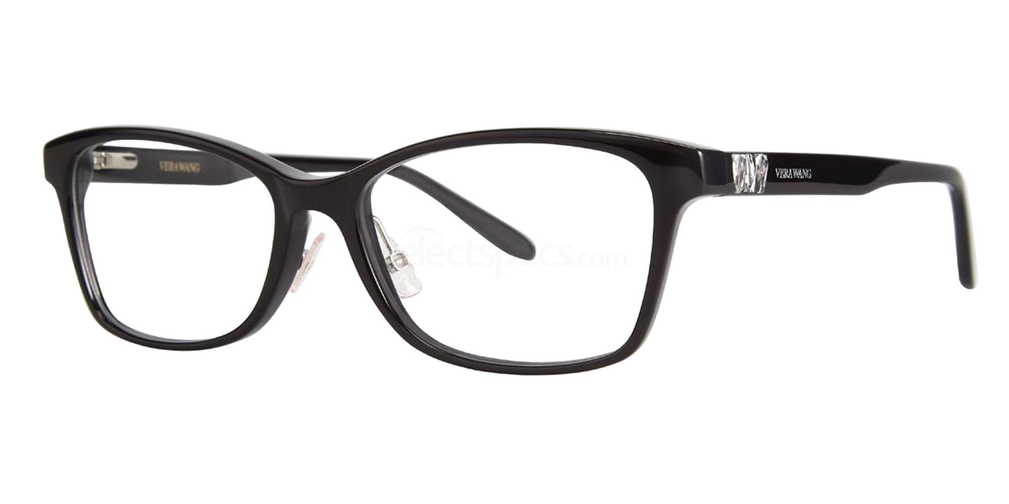 Black VA20 Glasses, Vera Wang Alternative Fit