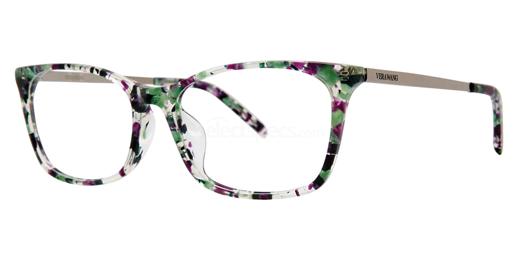 Violet Spring VA41 Glasses, Vera Wang Alternative Fit