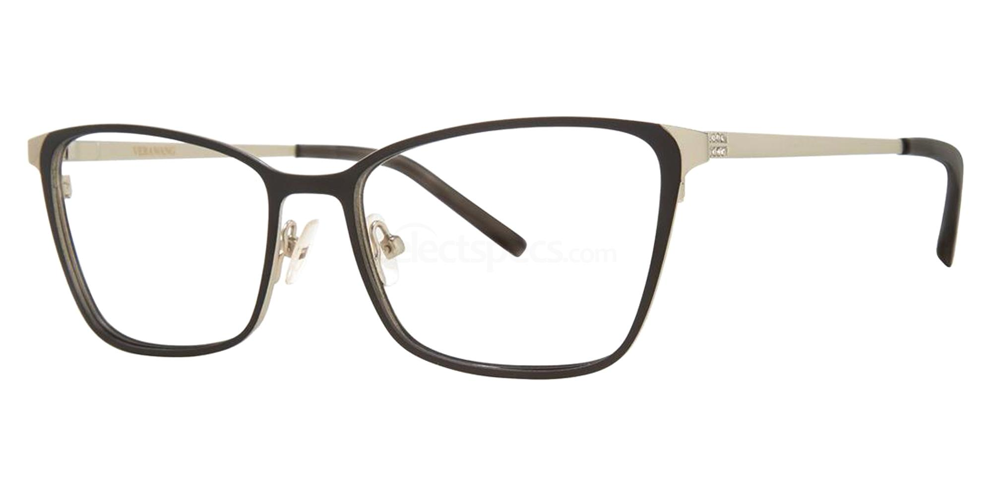 Black VA42 Glasses, Vera Wang Alternative Fit