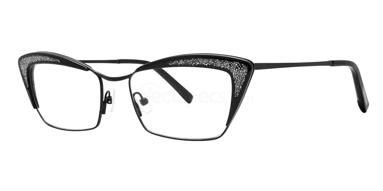 Black VA49 Glasses, Vera Wang Alternative Fit