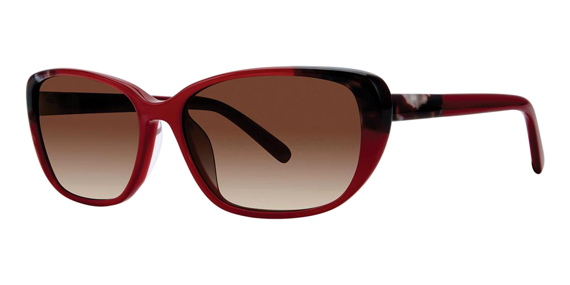 Scarlet Tortoise VAS1 Sunglasses, Vera Wang Alternative Fit