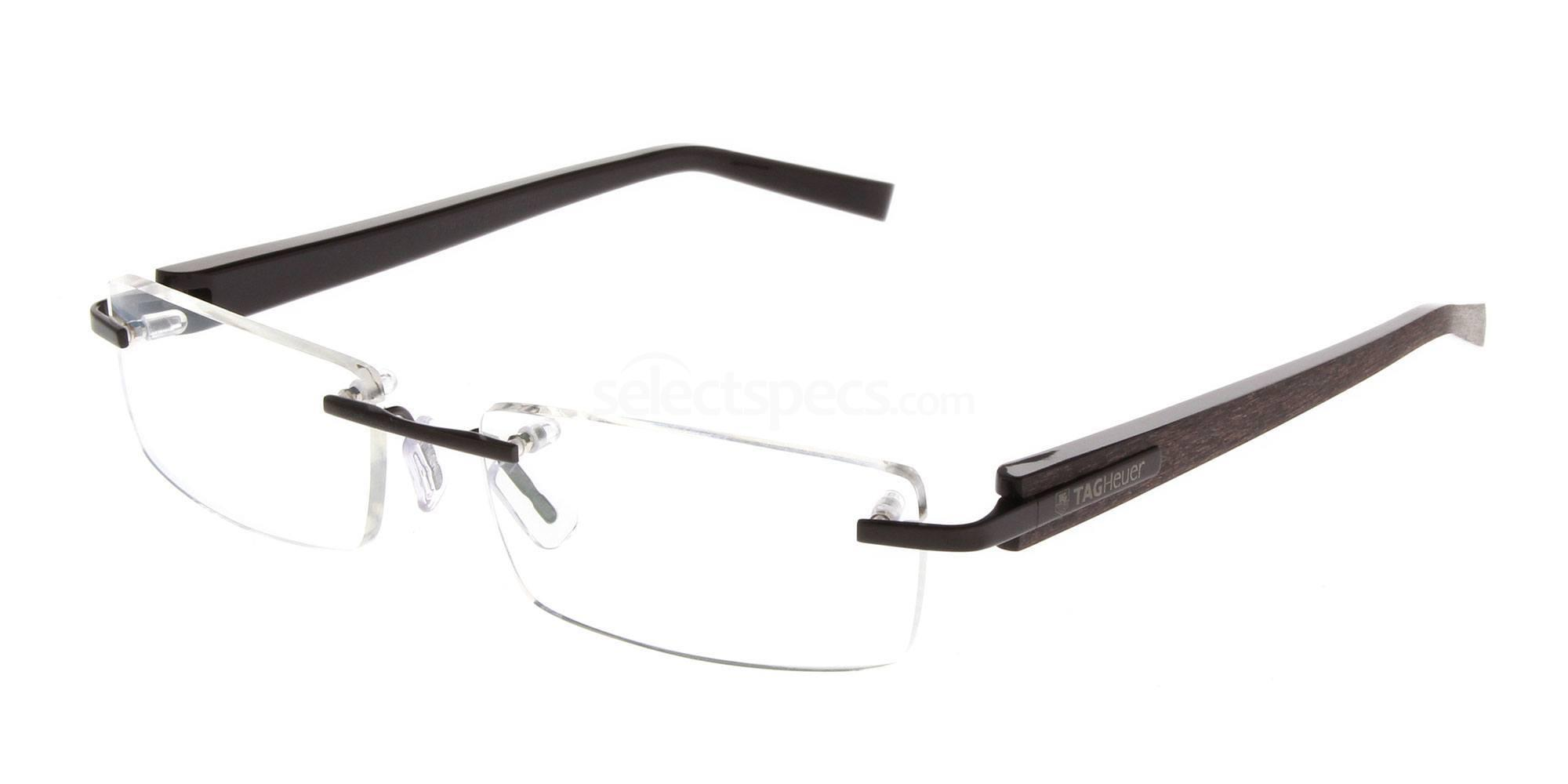 010 Trends Acetate Rimless 8103 Glasses, TAG Heuer