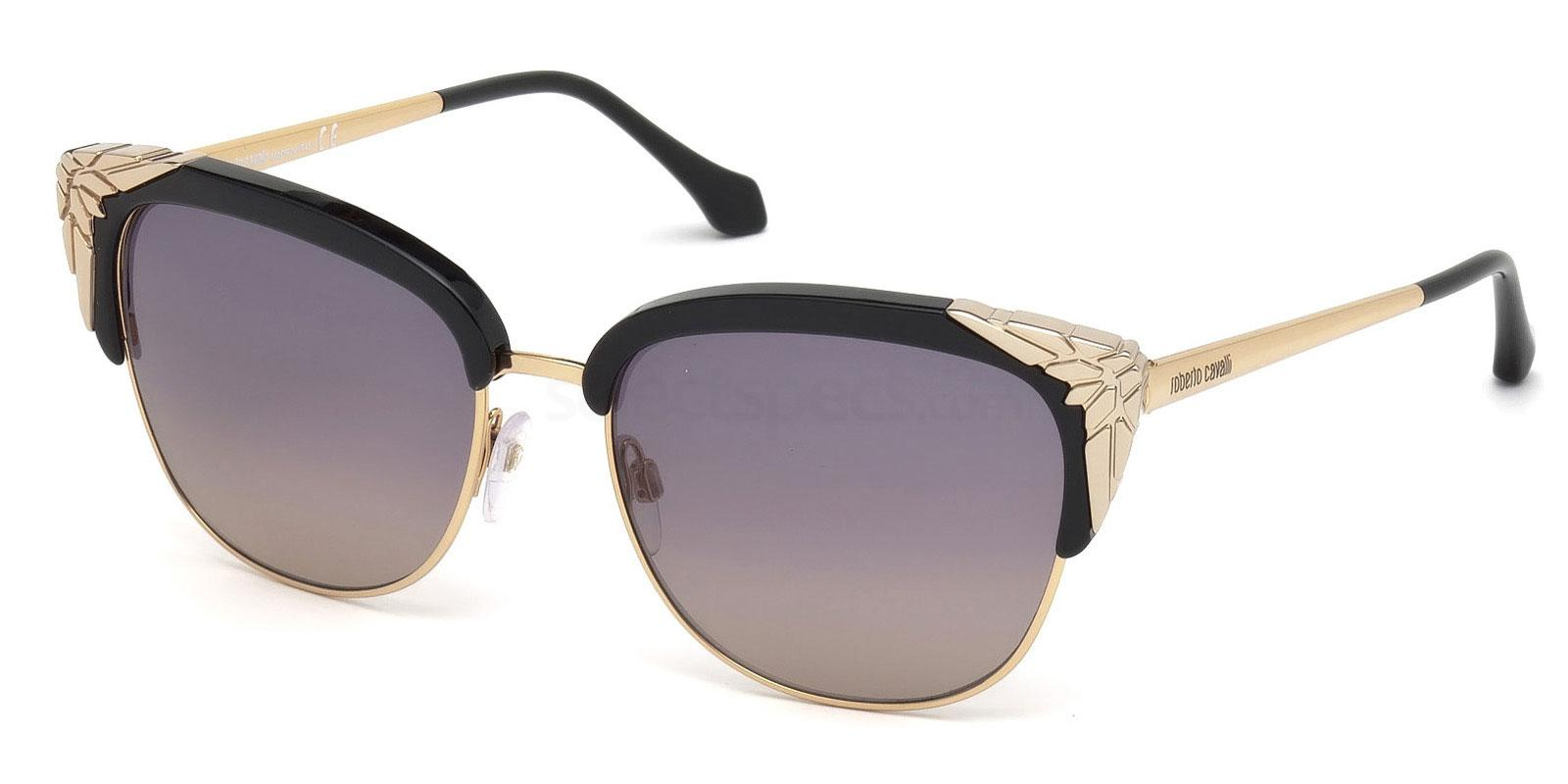 cat eye gold embellished roberto cavil sunglasses Ava (Only lovers left alive insp.)