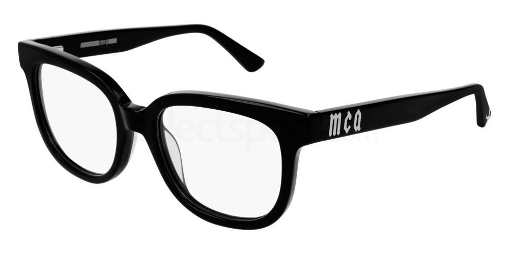 001 MQ0154O Glasses, McQ