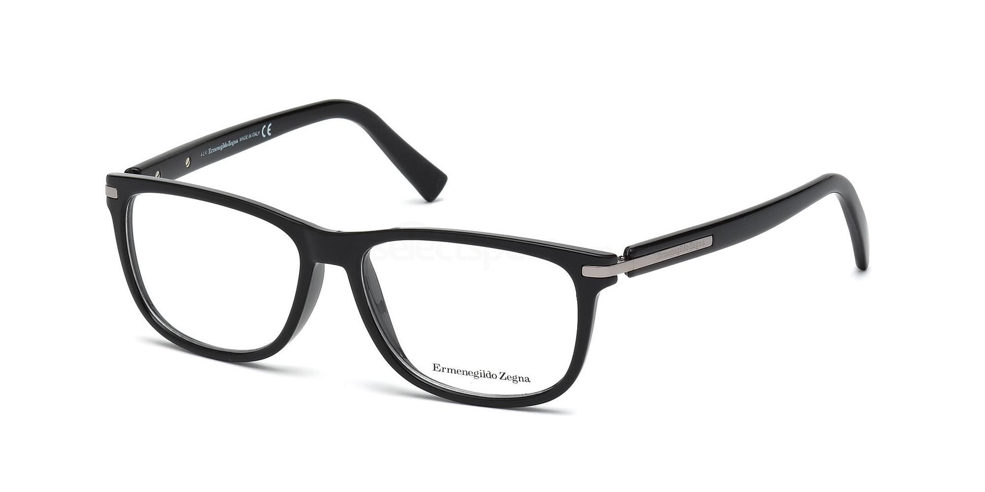 001 EZ5005 Glasses, Ermenegildo Zegna