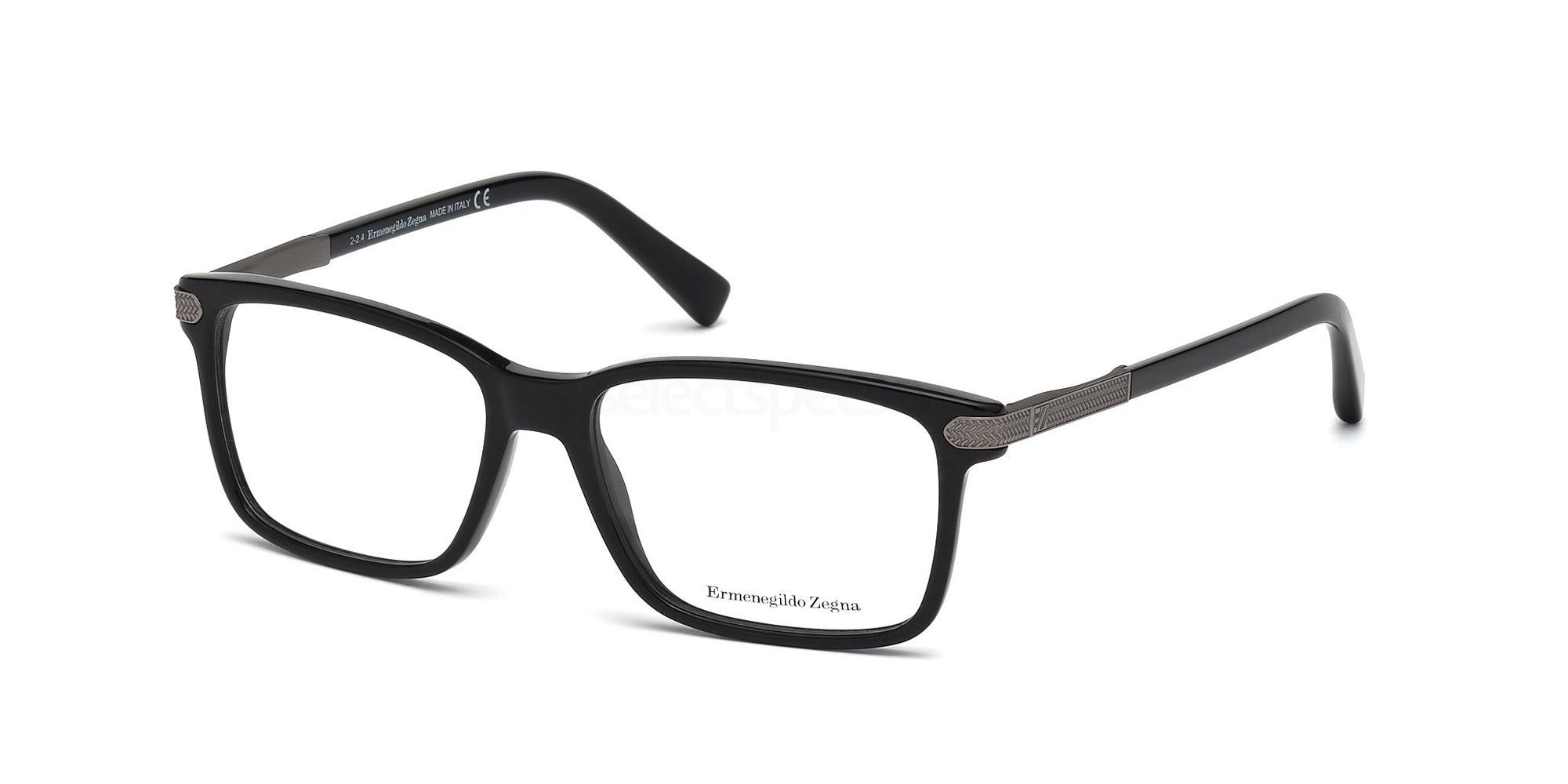 001 EZ5009 Glasses, Ermenegildo Zegna