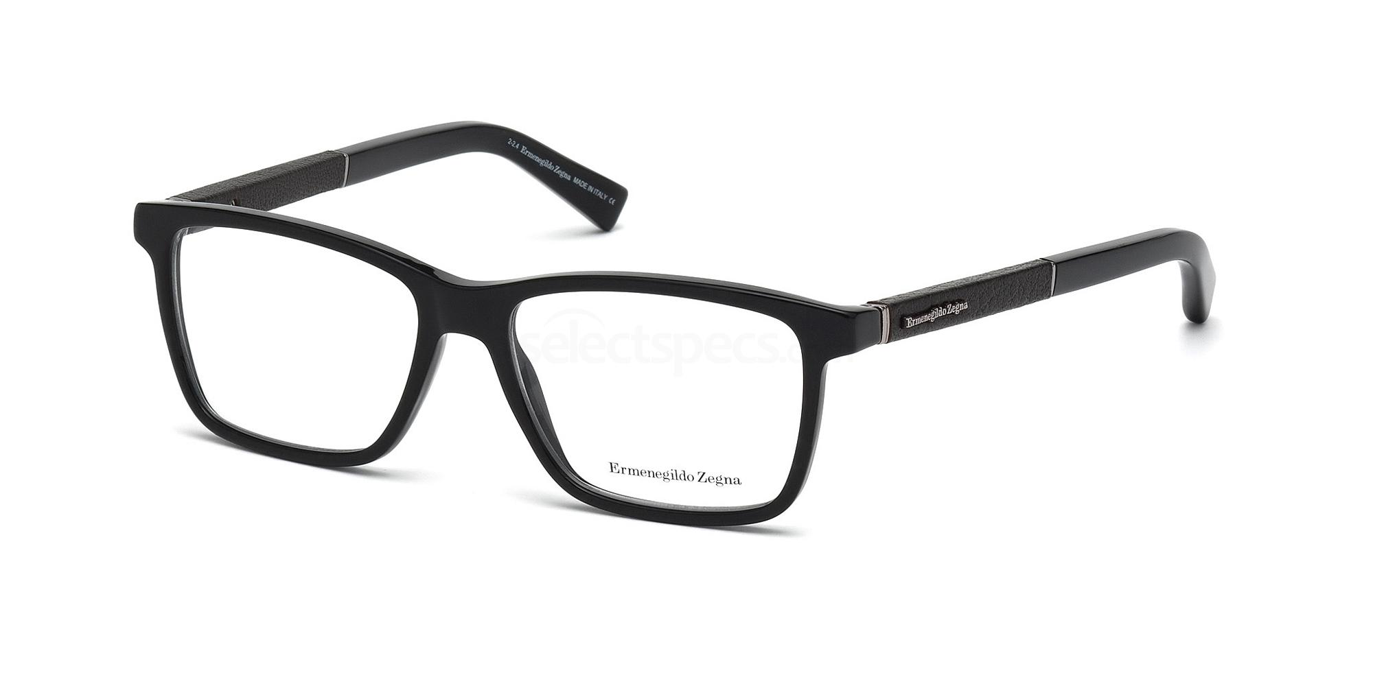 001 EZ5012 Glasses, Ermenegildo Zegna