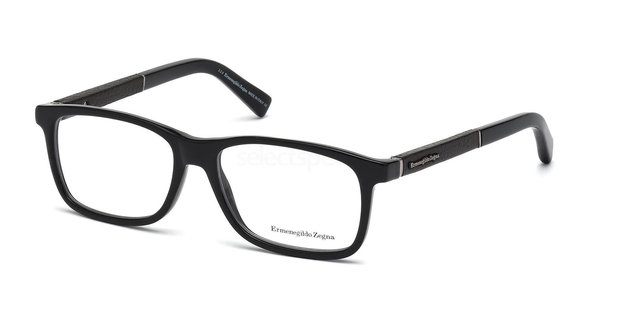 001 EZ5013 Glasses, Ermenegildo Zegna