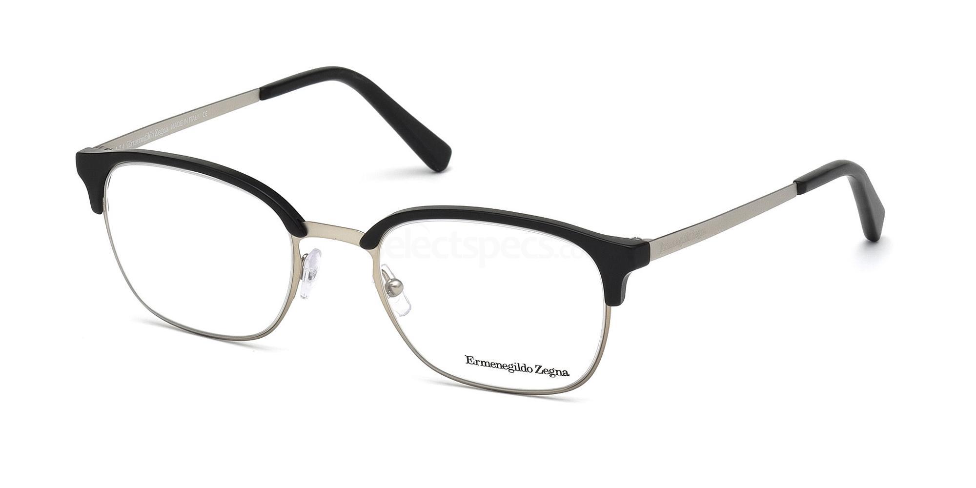 002 EZ5016 Glasses, Ermenegildo Zegna