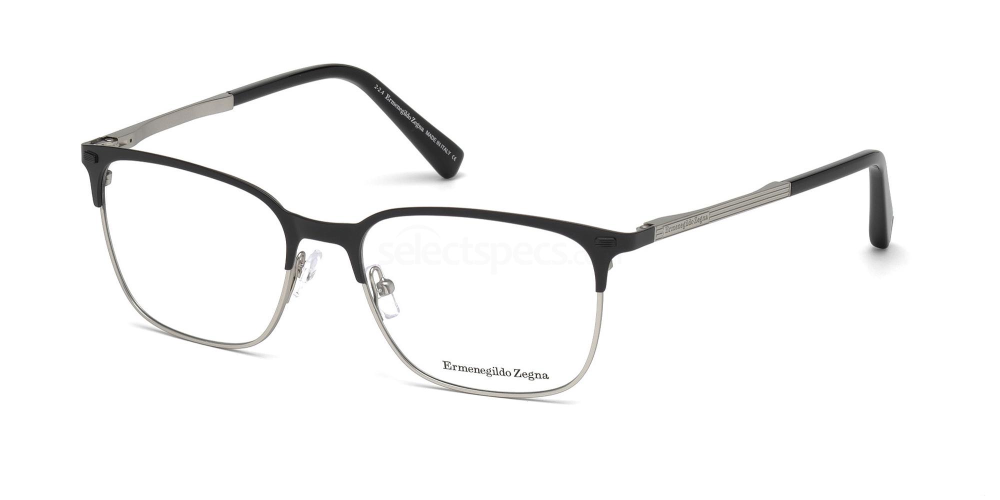 002 EZ5019 Glasses, Ermenegildo Zegna