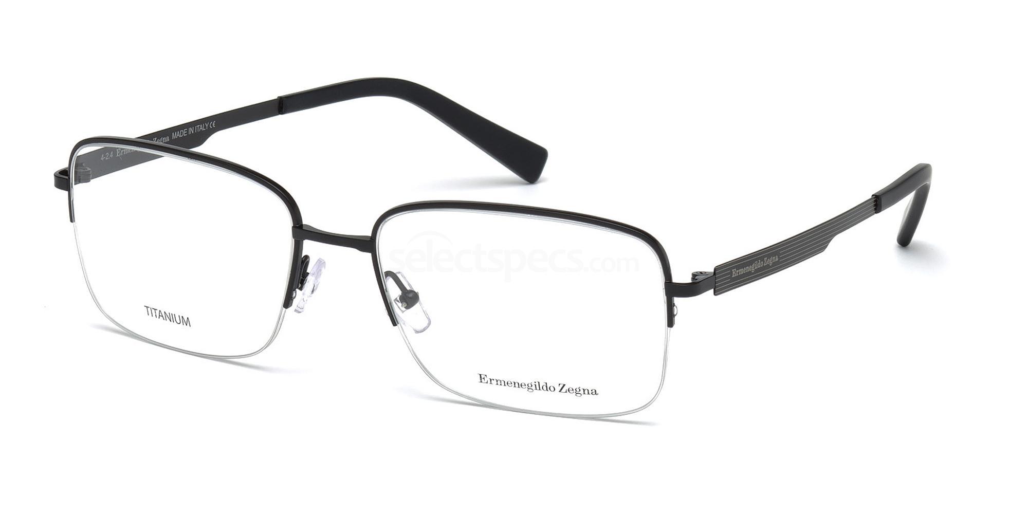 002 EZ5025 Glasses, Ermenegildo Zegna